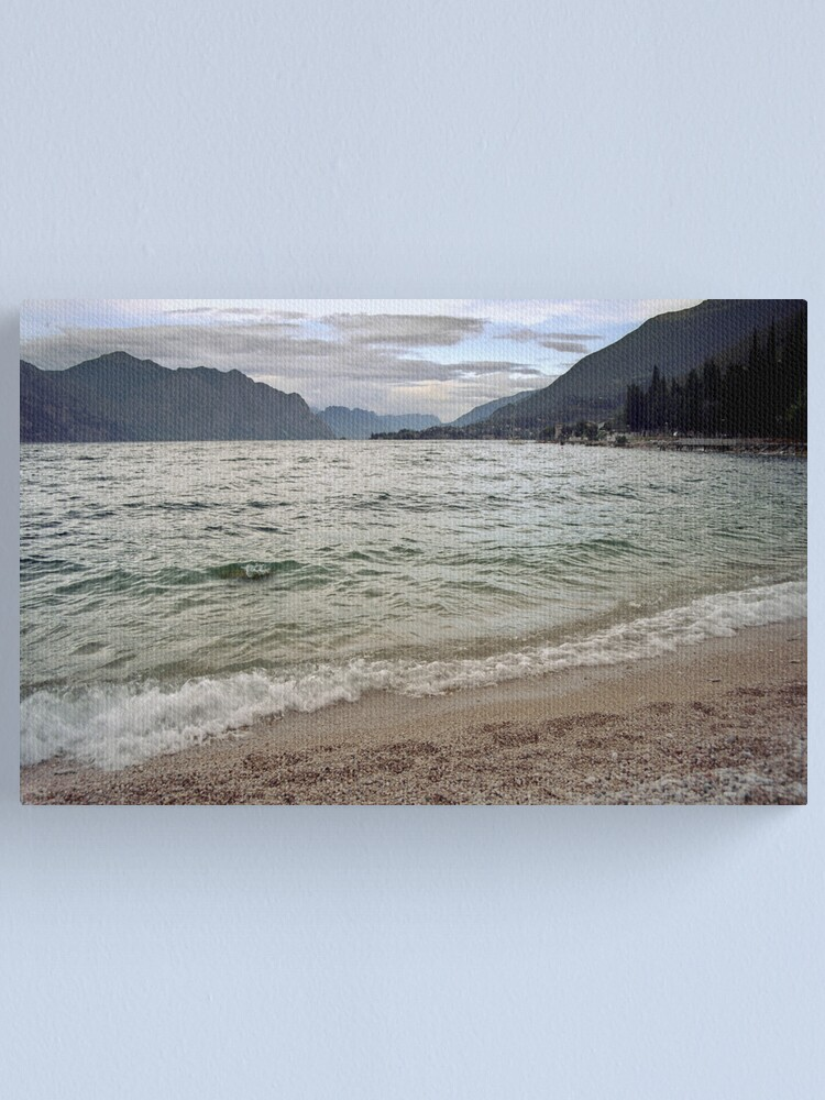 Alternate view of Lago di Garda, Italy Canvas Print