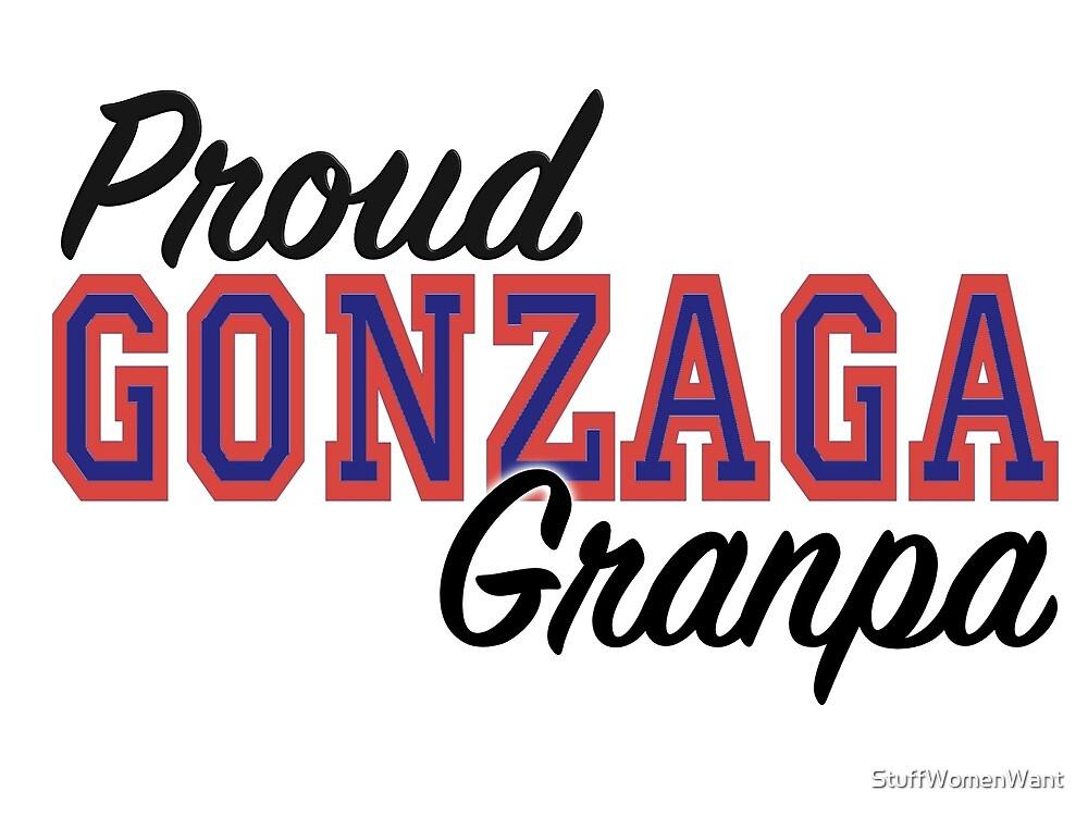 Proud Gonzaga Grandpa by StuffWomenWant