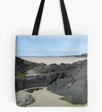 Rock Pool in Donegal Ireland Tote Bag