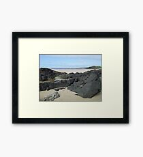 Rock Pool in Donegal Ireland Framed Print