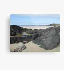 Rock Pool in Donegal Ireland Metal Print