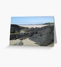 Rock Pool in Donegal Ireland Greeting Card