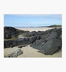 Rock Pool in Donegal Ireland Photographic Print