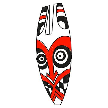 Mask Tribal Red by naivemagic