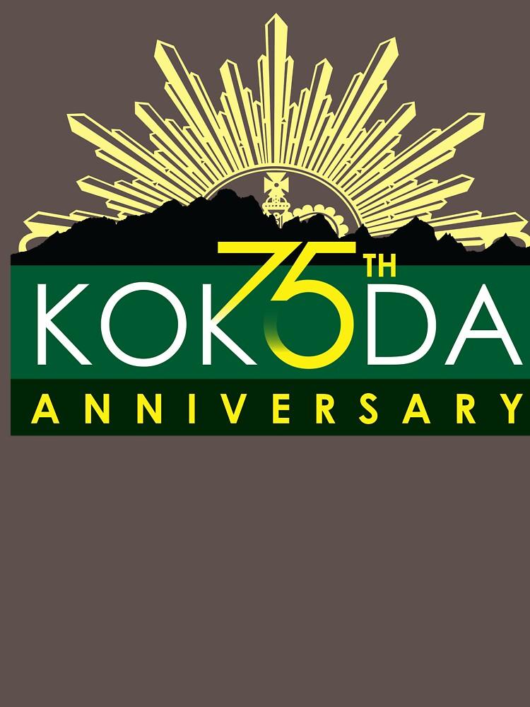 Kokoda 75th Anniversary Tshirt by noroads