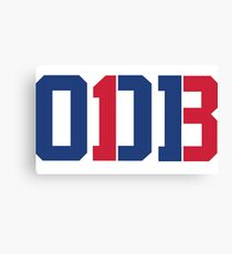 Odell Beckham Jr. | ODB 13 (Red/Blue Colorway) Canvas Print