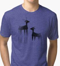 Geometric animals 3 Tri-blend T-Shirt