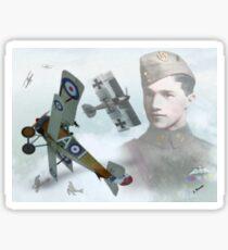 Capt. Albert Ball Sticker