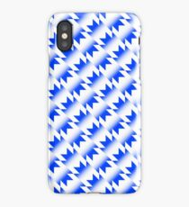 Manchester United 1990-92 Away Shirt Blue/White iPhone Case/Skin