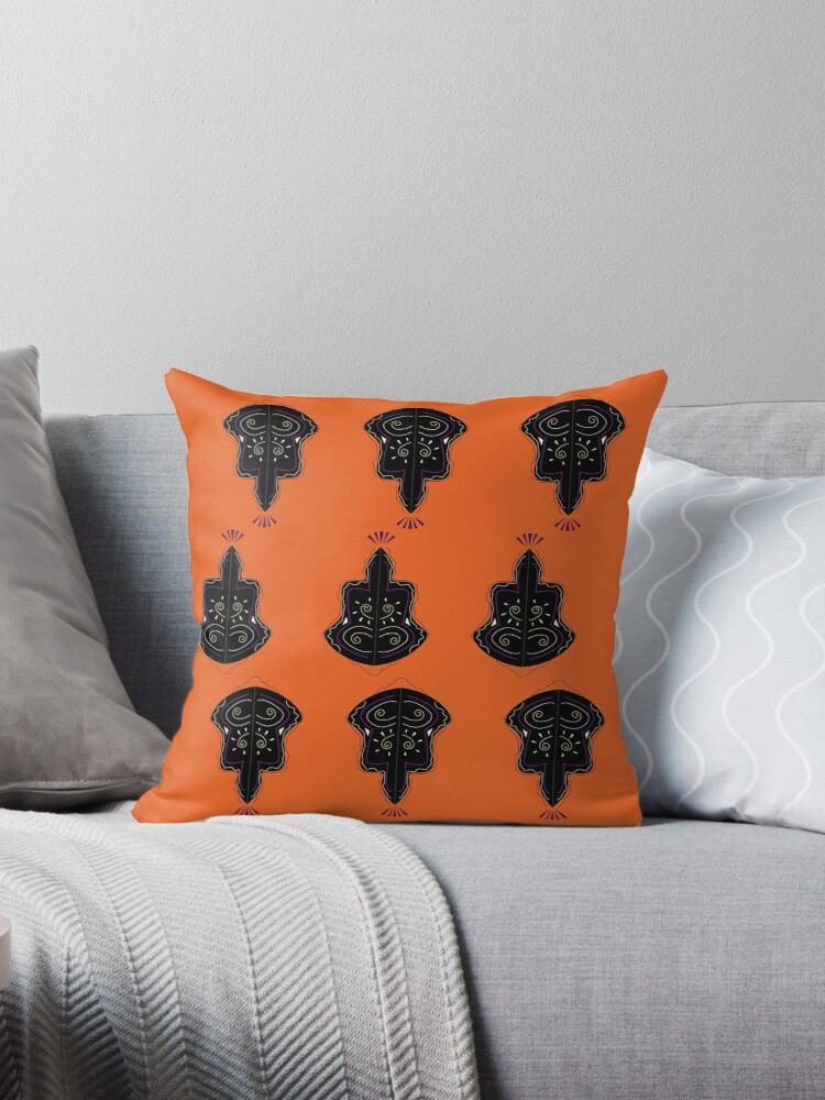 Luxury ornaments vintage black by Bee and Glow Illustrations Shop