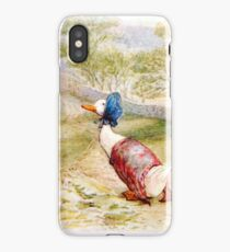 Jemima Puddle Duck iPhone Case/Skin