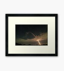 Monsoon Missile Framed Print