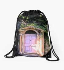 Door at the castle Drawstring Bag