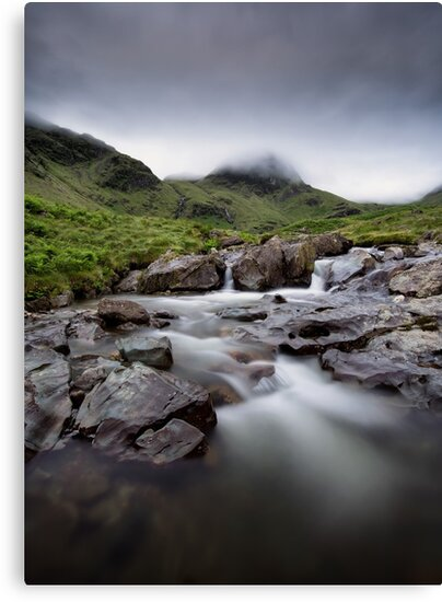 Moody Morning Deepdale Beck by Phil Buckle