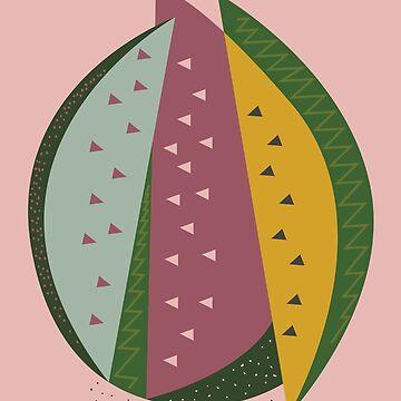 Watermelon by FLATOWL