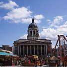 Funfair at the City Hall by Steven Guy