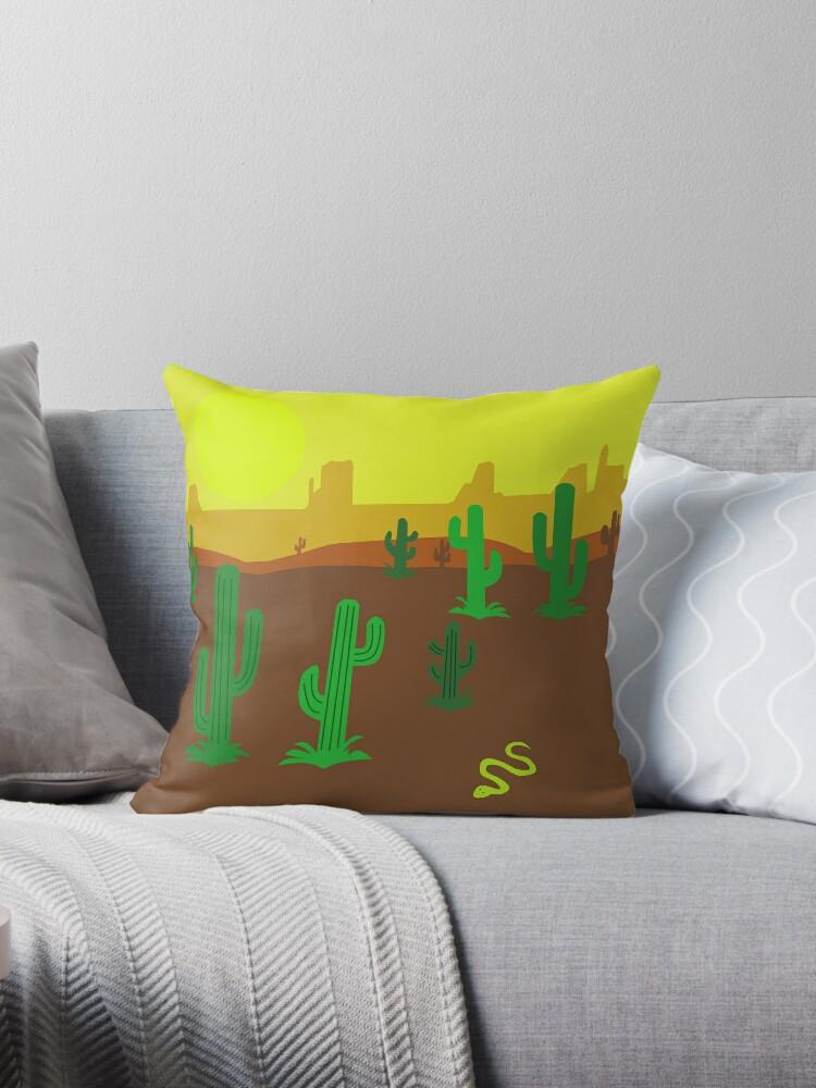 Cactus en el desierto by redumbrellashop