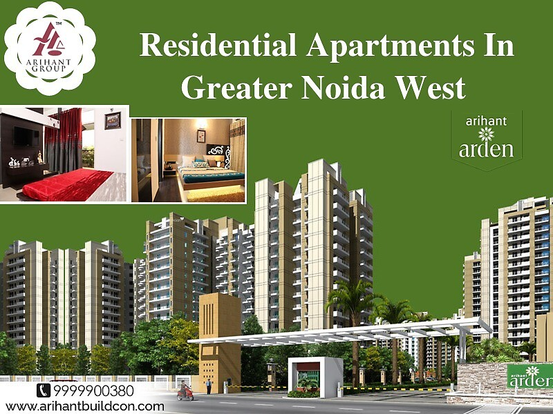 Residential Apartments In Greater Noida West by arihantbuild