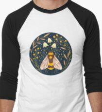 Harvester von Gold Baseballshirt mit 3/4-Arm