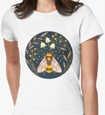 Harvester von Gold Tailliertes T-Shirt für Frauen