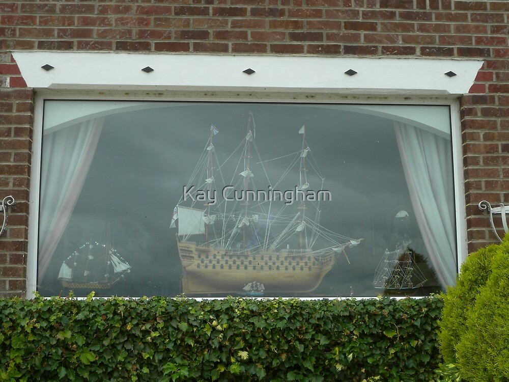UK_Hampshire_Gosport_Window in Priddys Hard by Kay Cunningham