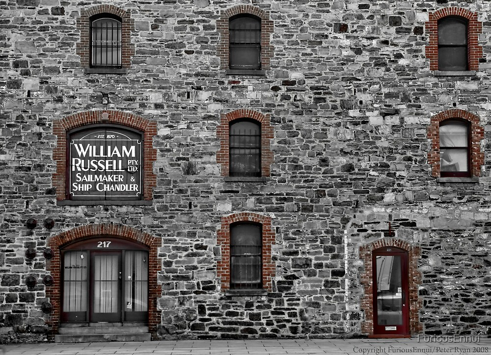 Chandler's Warehouse, Port Adelaide by FuriousEnnui