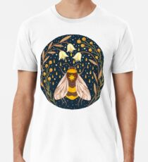 Camiseta premium para hombre Cosechadora de oro