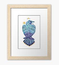 Raven Totem Framed Print