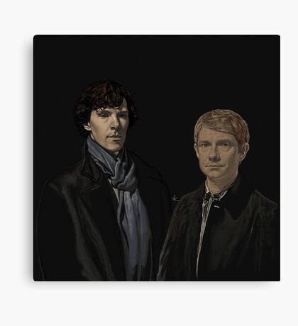 SHERLOCK BBC Canvas Print