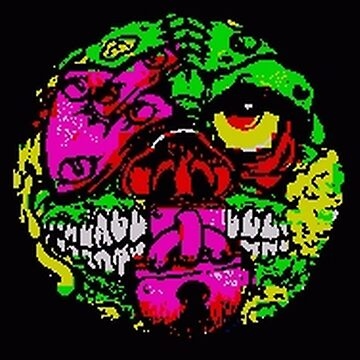 ZX Spectrum Lock Lips Madball by deadpan666