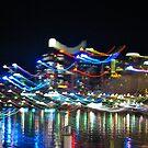 Darling Harbour in Motion by Jen Waltmon