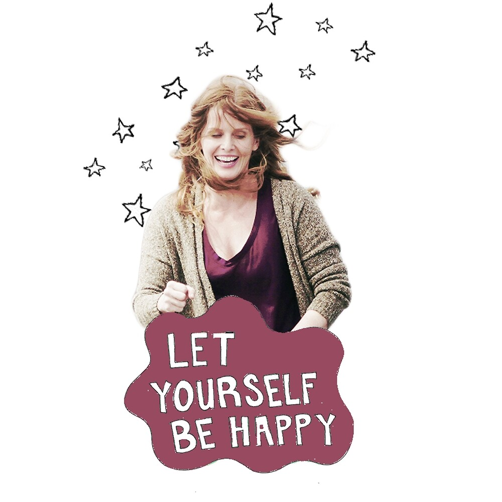Rebecca Mader - Let Yourself Be Happy by Sam Preston