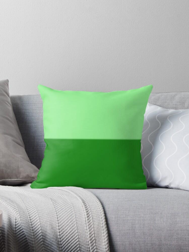 Inspiración Rothko en verde by redumbrellashop