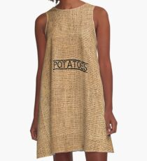 Potatoes bag A-Line Dress