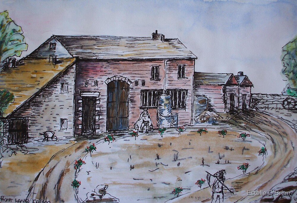 Hunt Lane Farm by Estelle O'Brien