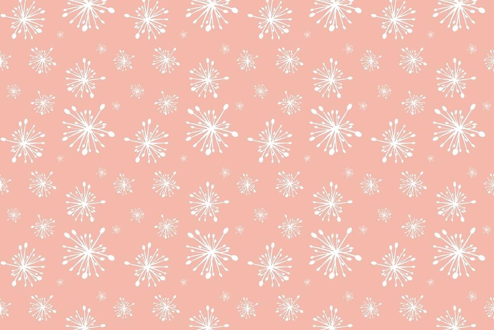 Columbine Centers Burst Pink by Annie Webster