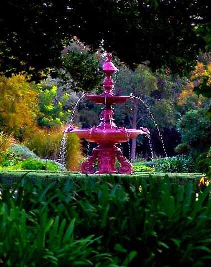 Botanic fountain by awaterhouse