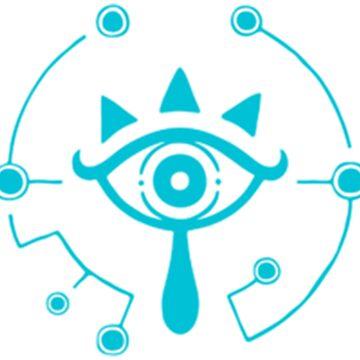Sheikah Eye The Legend of Zelda by stayaminute
