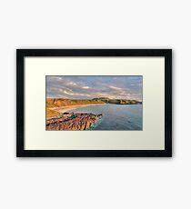 Whistling Sands at Dusk Framed Print