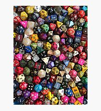 All the dice Photographic Print