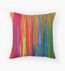 Raw Silk Throw Pillow