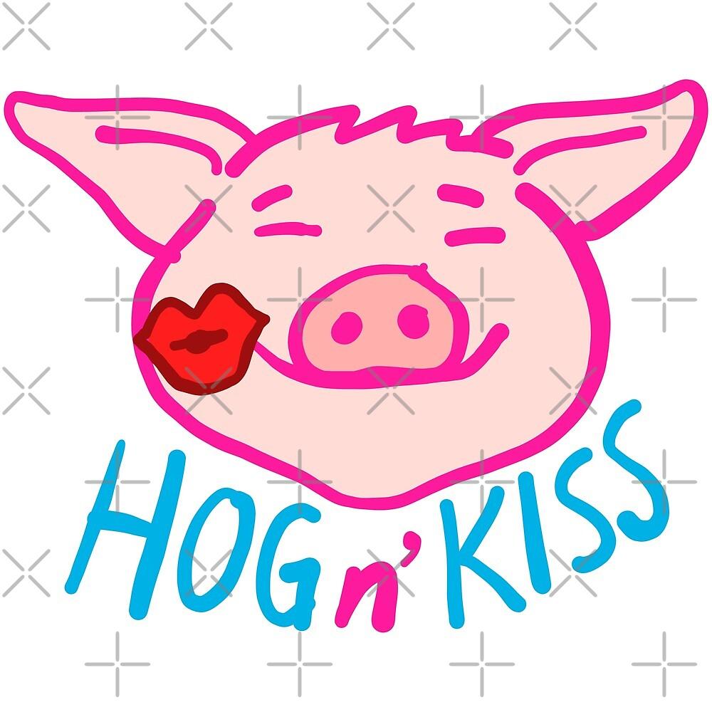 Hog n' Kiss by supermegatomato
