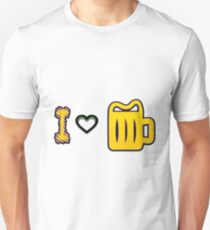 Beer love - Funny beer saying. T-Shirt