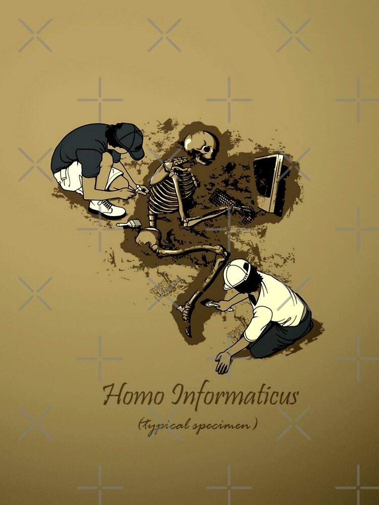 homo informaticus by bataha