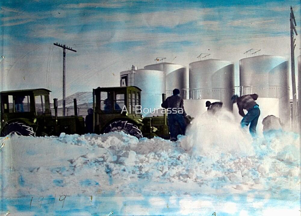 Colorized Tractors By Grandpa - 1949 by Al Bourassa