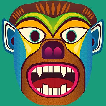 Devil ethnic mask by TIERRAdesigner