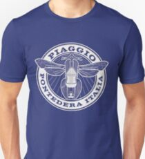 Vespa Piaggio Club Logo  T-Shirt
