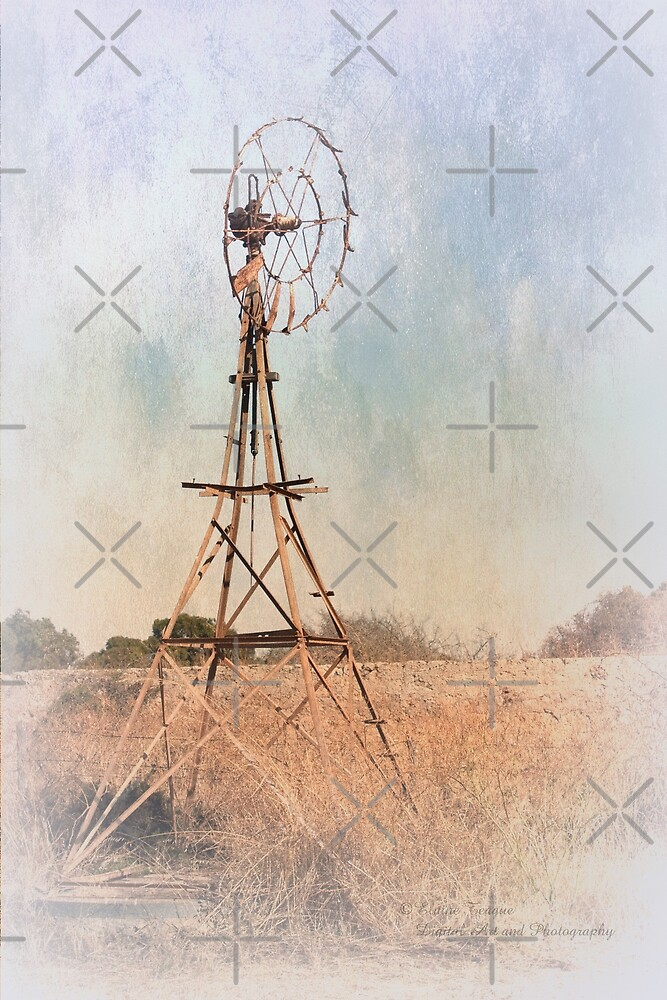 Old Windmill, Greenough, Western Australia by Elaine Teague