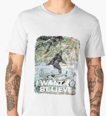 Finding Bigfoot Believe Men's Premium T-Shirt