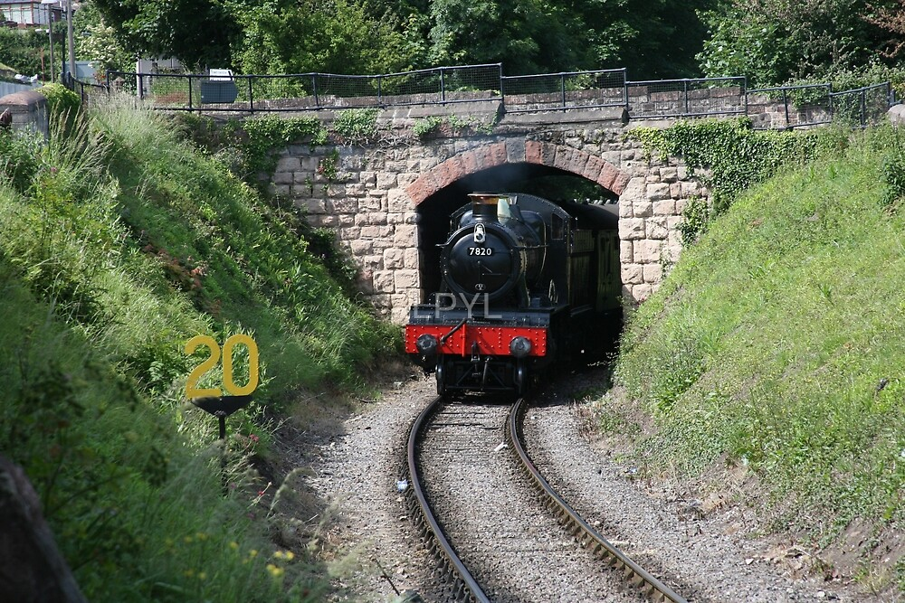 """GWR """"Dinmore Manor"""" (shot 01) by LPYL"""
